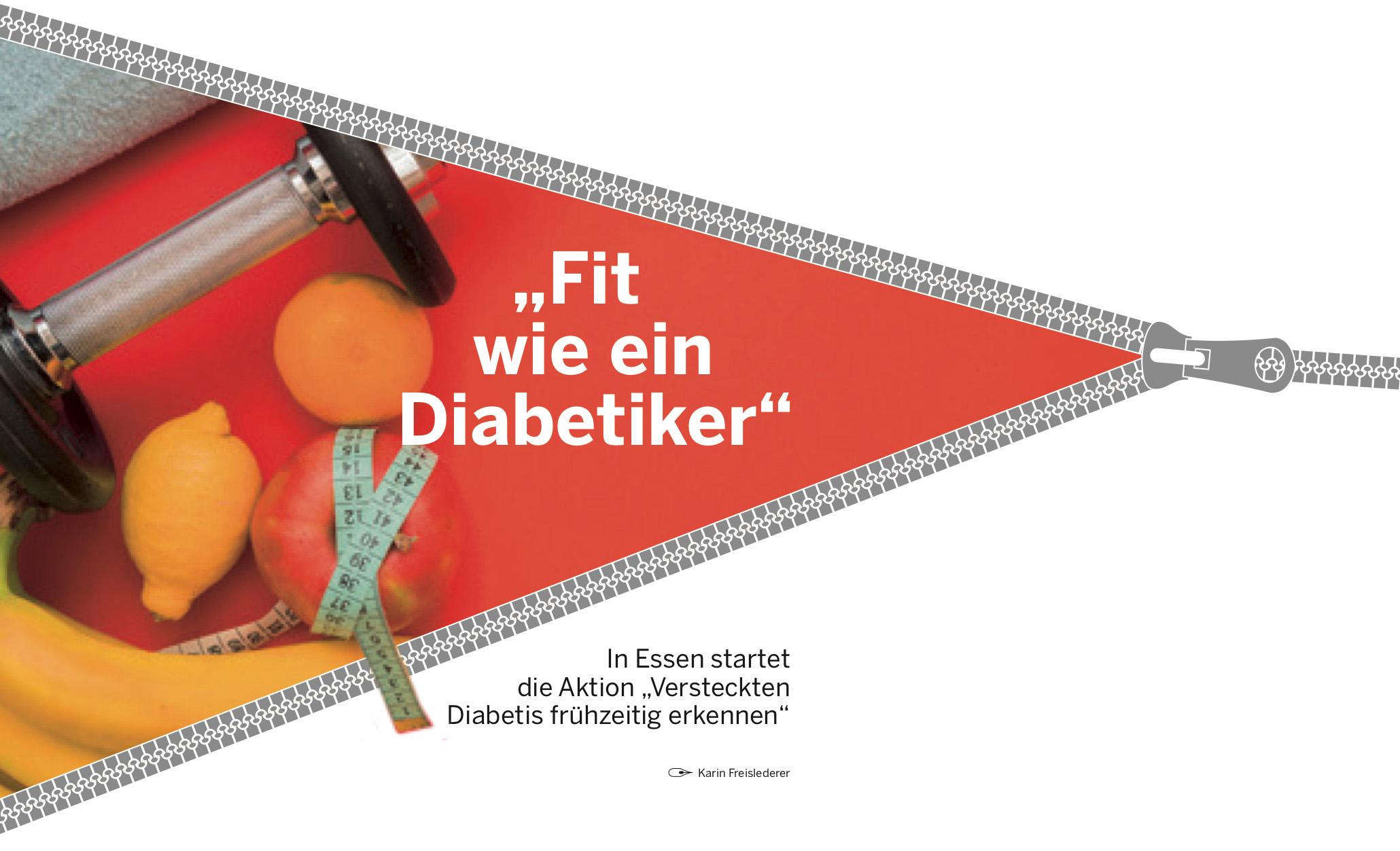 Fit wie ein Diabetiker