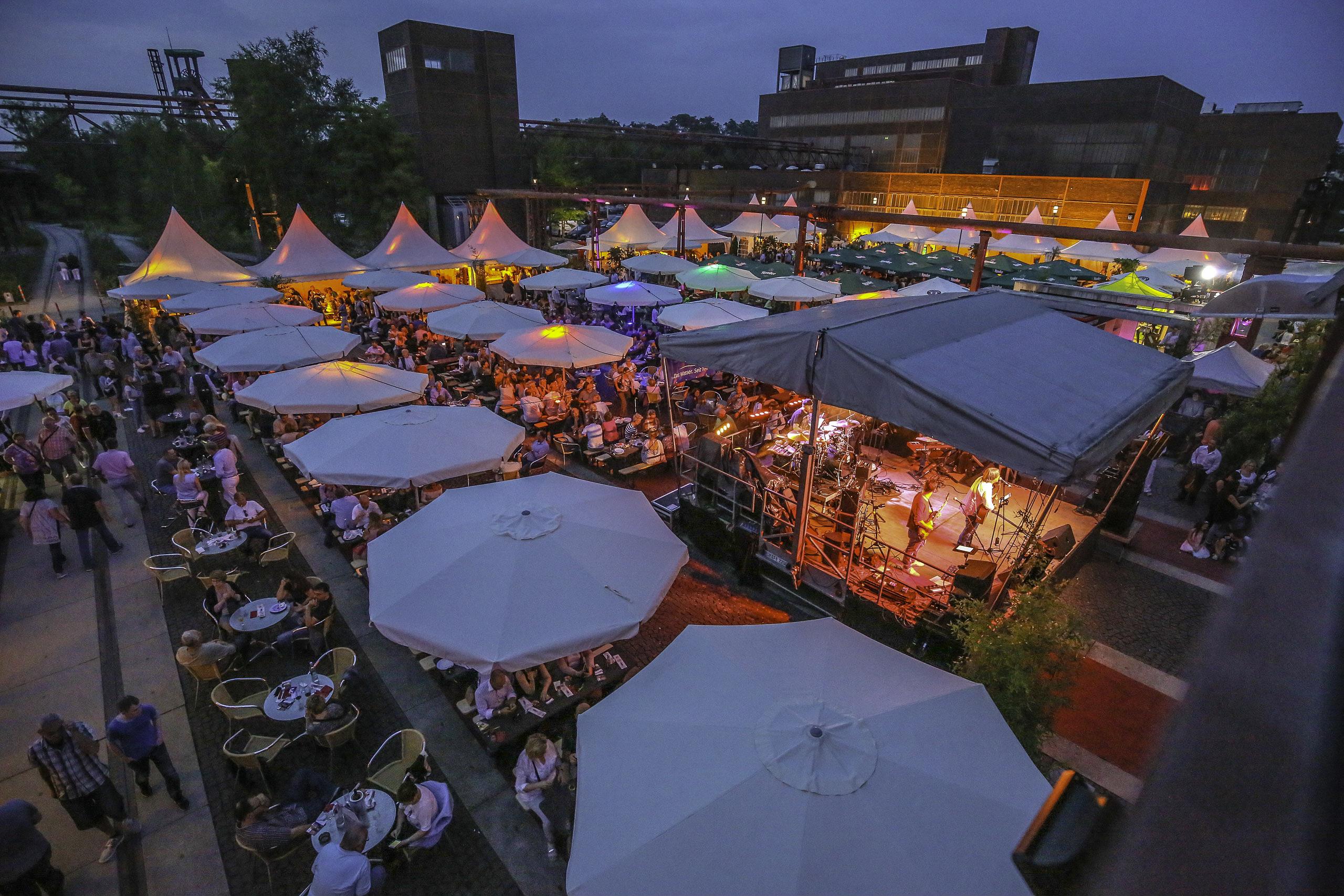 Gourmetmeile Metropole Ruhr auf Zollverein