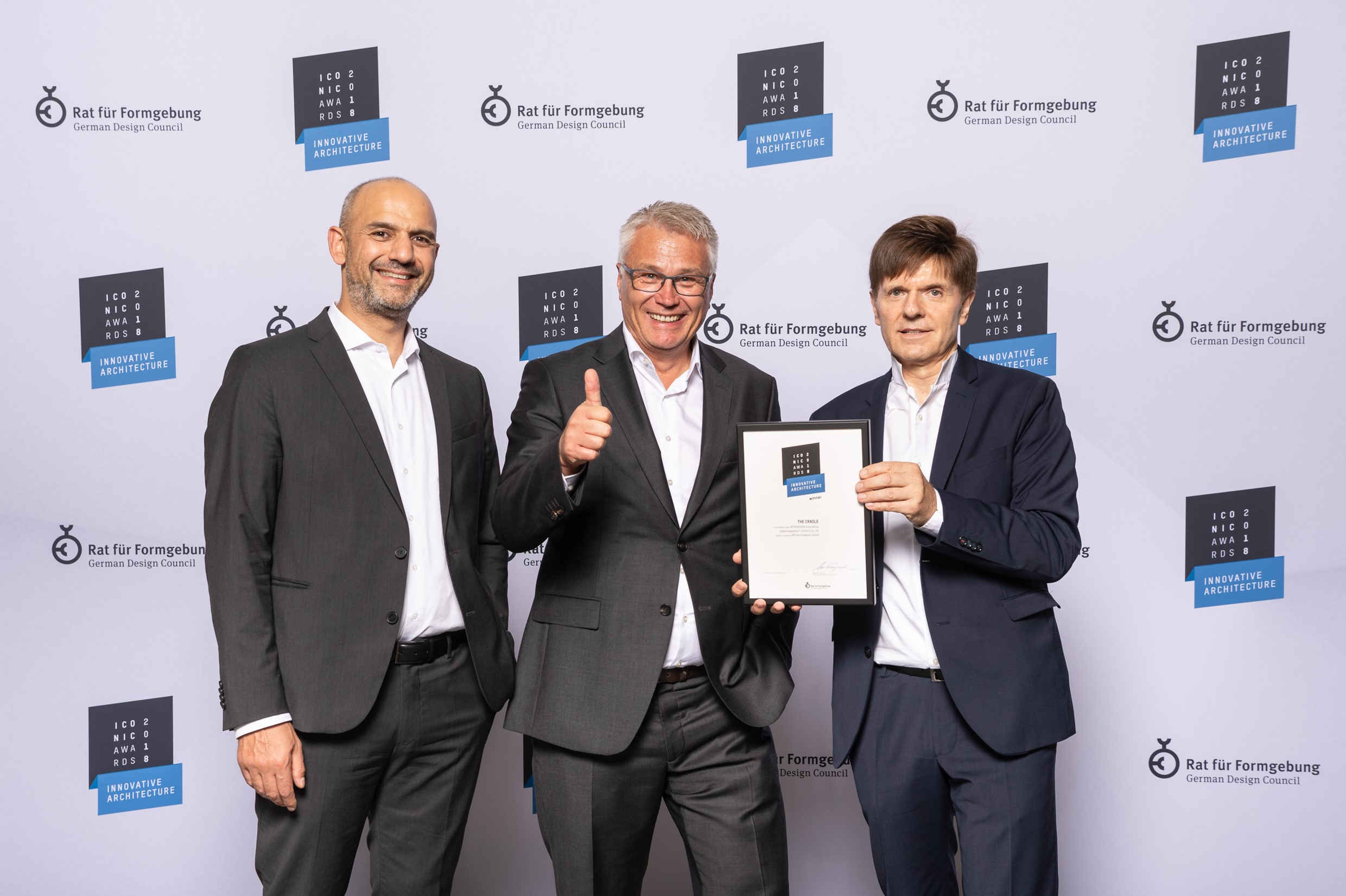 "Bauprojekt ""The Cradle"" bekommt Iconic Award 2018"