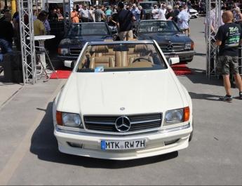 Große Sternen-Schau beim Mercedes Festival 2020