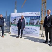 Zuwachs im Arena-Park Gelsenkirchen – medicos.AufSchalke legt Grundstein für neuen Gebäudekomplex
