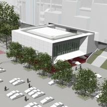 """""""The Box"""" – Multifunktionaler Neubau entsteht an MERKUR SPIEL-ARENA"""