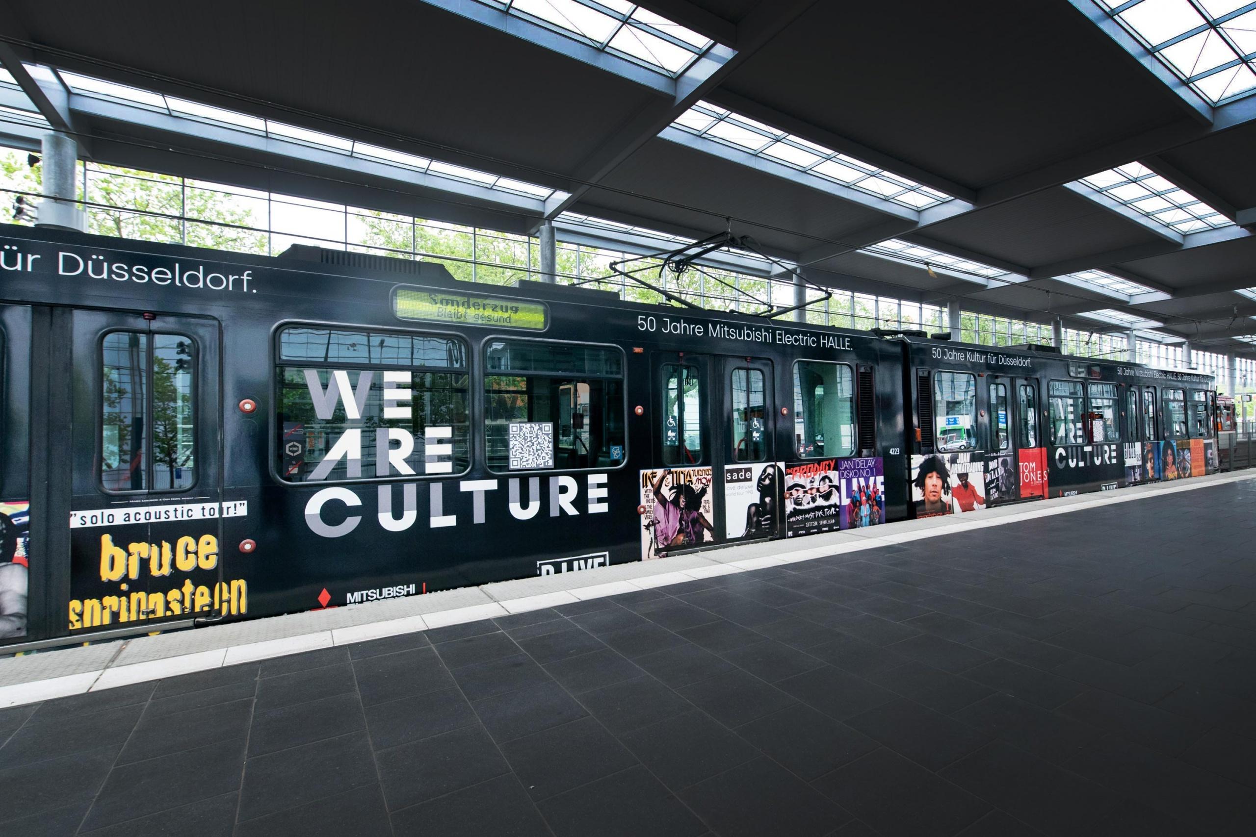 Düsseldorf: Rheinbahn mit Highlights aus 50 Jahren Mitsubishi Electric HALLE