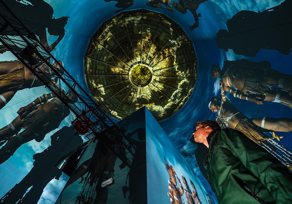Wuppertal: Neue Projektionsshow im Visiodrom